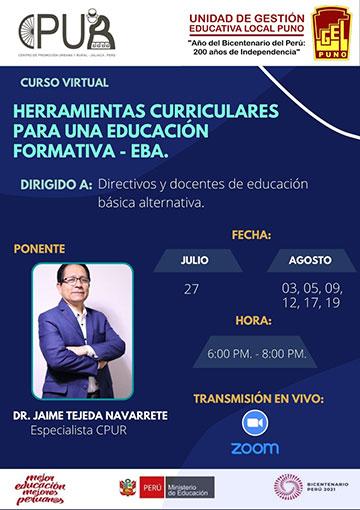 Herramientas Curriculares para una Educación Formativa - EBA